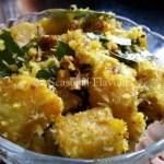 Raw Banana Fry - Aratikaya Vepudu Andhra Style