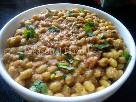 Soya Bean Masala Curry Recipe