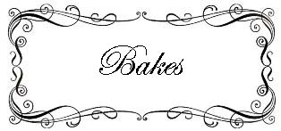 Recipe Index - Bakes