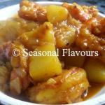 Chingri Macher Bati Chorchori | Bengali Prawn Curry Recipe