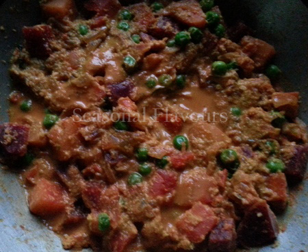 Simmer Indian Vegetable Curry