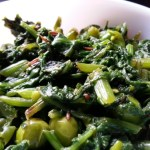 Palak Matar Stir Fry With Spinach And Peas | Palak Green Peas Curry