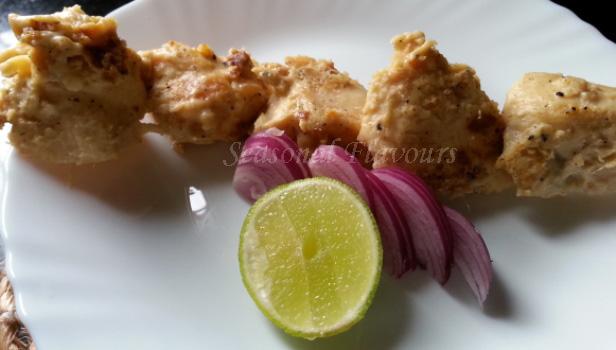 Chicken Malai Kebab Tikka