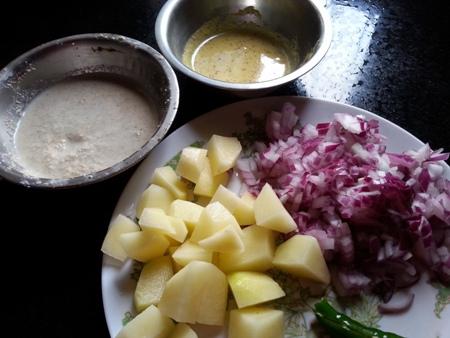 Ingredients for Shorshe Chingri Recipe