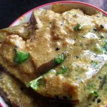 Shorshe Doi Begun Eggplant In Mustard Yogurt Gravy | Begun Shorshe