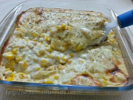 Cheesy Corn Bake Recipe