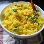 Yellow Lemon Rice Andhra Recipe