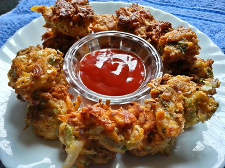 cabbage pakoda andhra recipe
