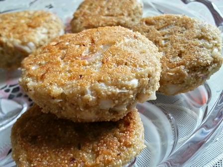 khus khus aur nariyal ke vada recipe