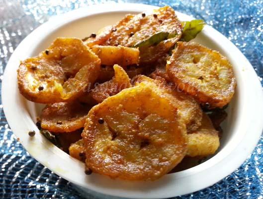 Aratikaya Vepudu Recipe Andhra Style