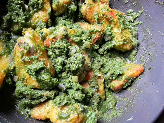 Fish coriander recipe