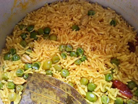 Bengali sweet pulao recipe