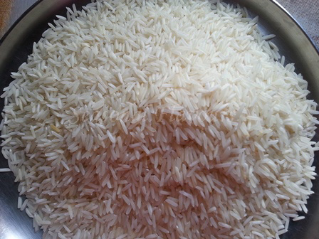 Rice for Chole Pulav Recipe