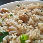 Chole Pulao With White Chickpeas And Rice | Andhra Kabuli Chana Pulao