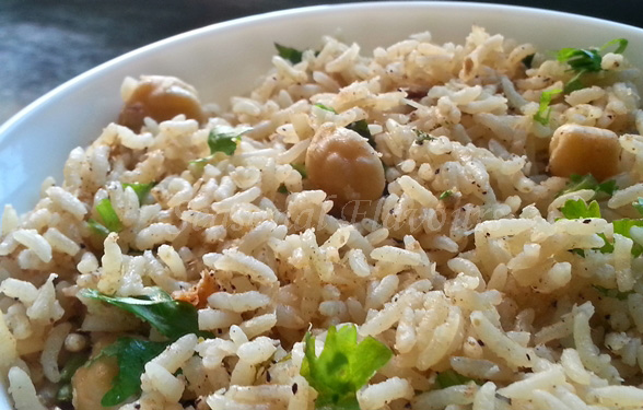 Chole Pulao Recipe