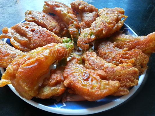 Bokful Bhaja Recipe