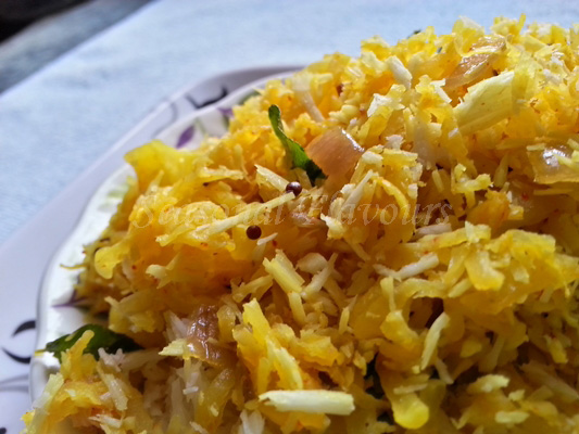 Kappalanga Thoran Recipe