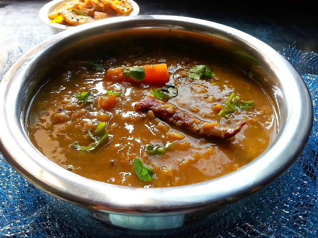 Sambar Recipe with tur dal