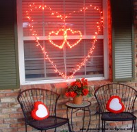 LARGE Valentines Day Decoration Idea  The Seasonal Home