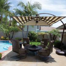 Treasure Garden Cantilever Umbrellas - Seasonal Specialty