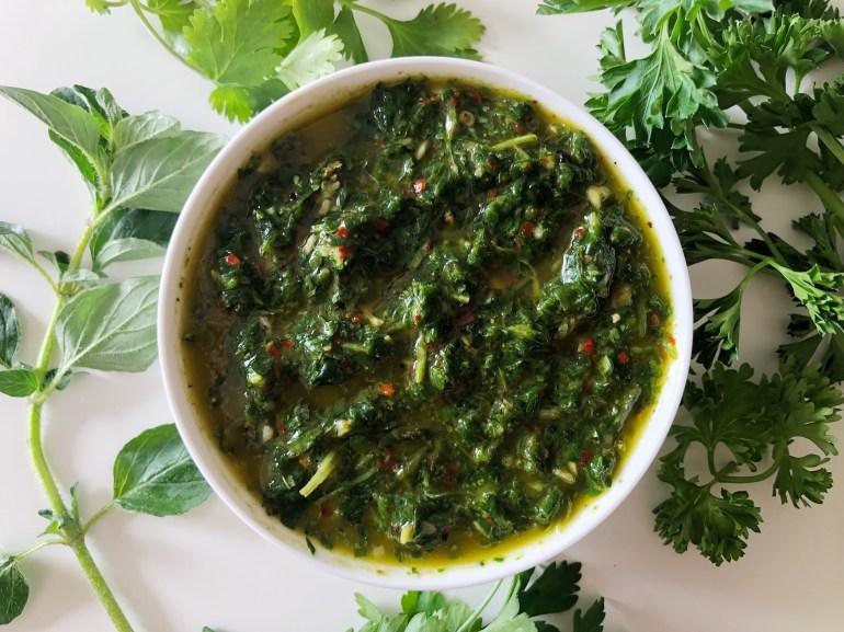 chimichurri sauce season ans serve blog