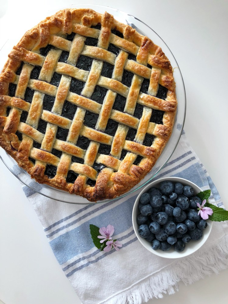 BC Blueberry Pie