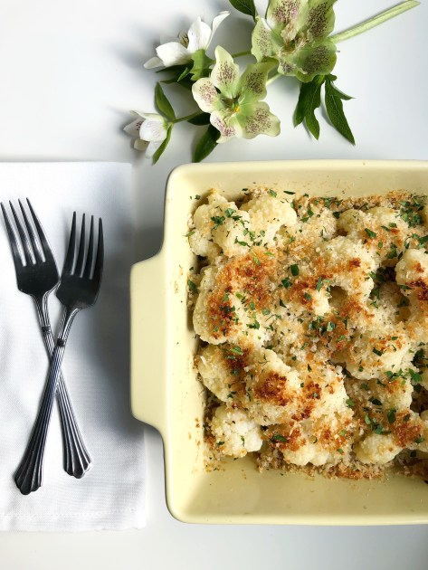 Cauliflower Gratin - Recipe by Season & Serve Blog