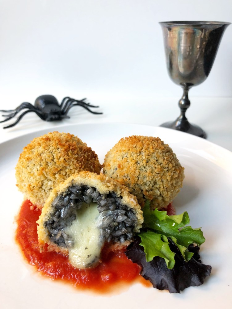 Squid Ink Arancini | Season and Serve Blog