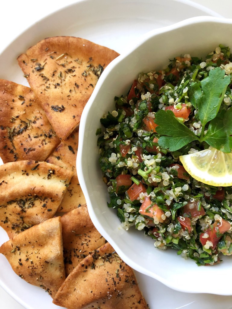 Quinoa Tabbouleh Salad - Season & Serve Blog