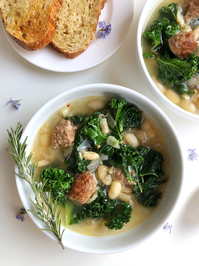 Sausage, Kale & White Bean Soup - Season & Serve Blog