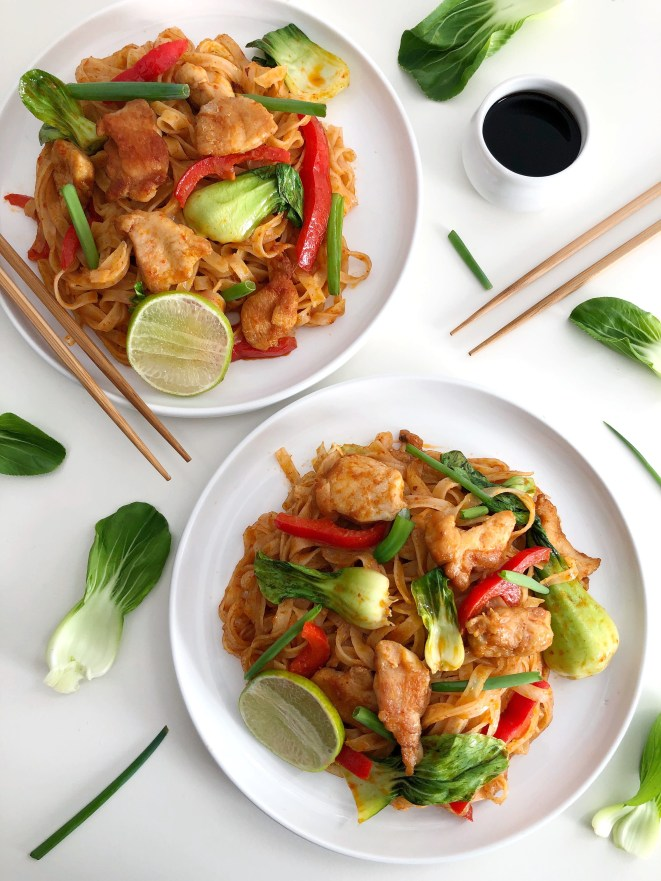 Thai Red Curry Noodles - Season & Serve Blog