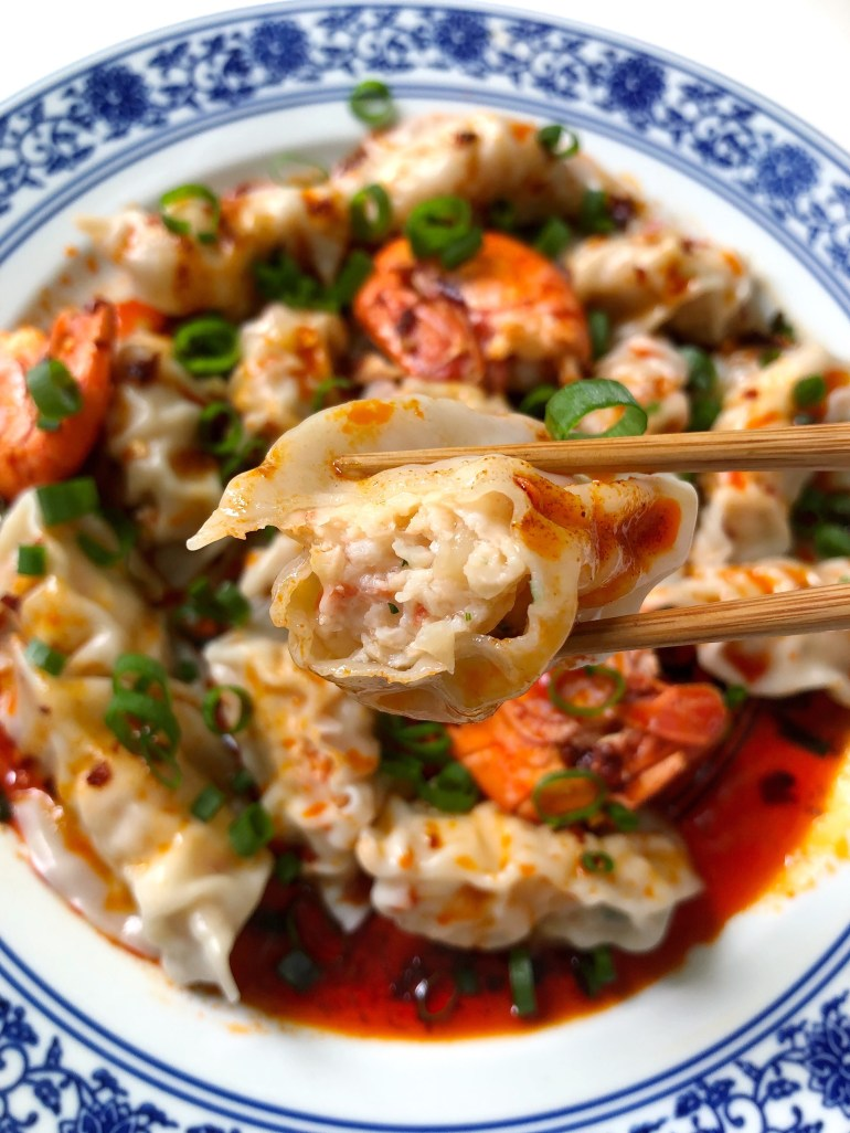 Spot Prawn Dumplings - Season and Serve Blog