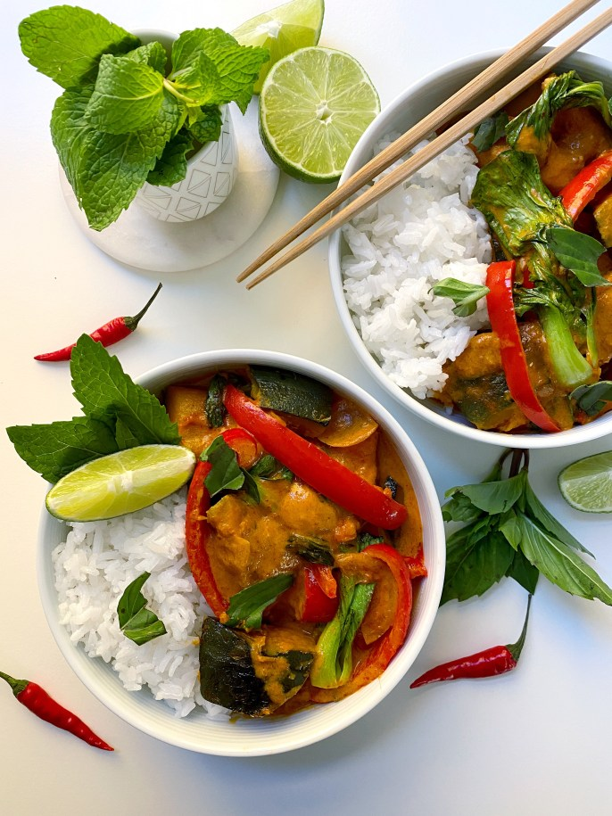 Vegan Kabocha Squash Curry - Season and Serve Blog