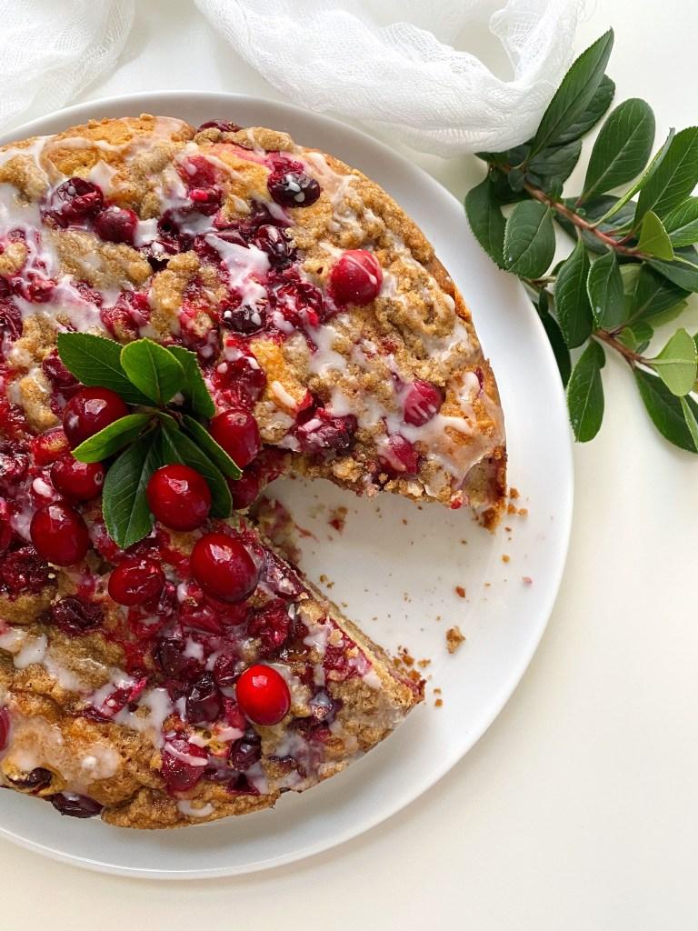 Cranberry-Orange Coffee Cake - Season and Serve Blog