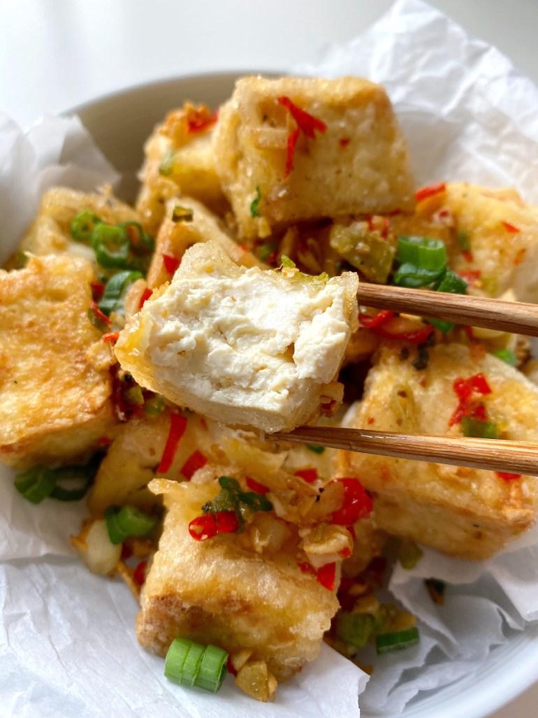 Salt & Pepper Tofu- Season & Serve Blog