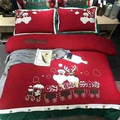 Red Christmas Holiday Bedding Ideas  Holiday Dcor
