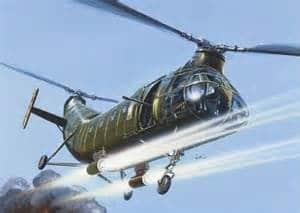 helicopter shooting
