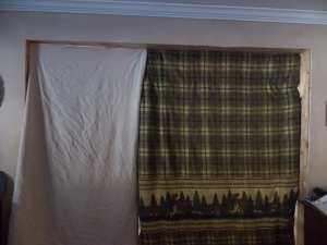 kitchen blankets