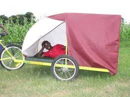 bicycle cart tent
