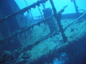 underwater graveyard