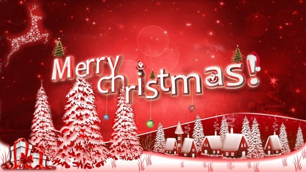 Free-Merry-Christmas-Trees-Wallpapers