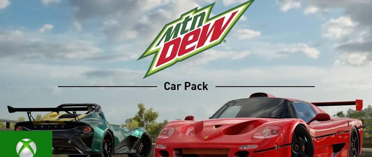 Forza Horizon 3 : Mountain Dew Car Pack Trailer