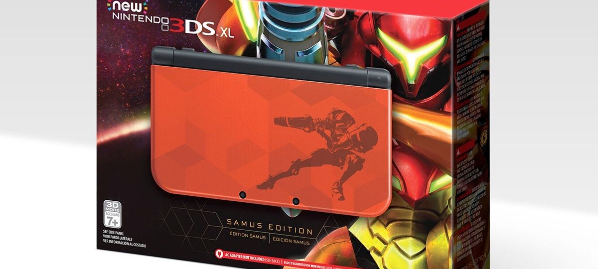 Special Edition 3DS XL to Coincide with Metroid Samus Returns
