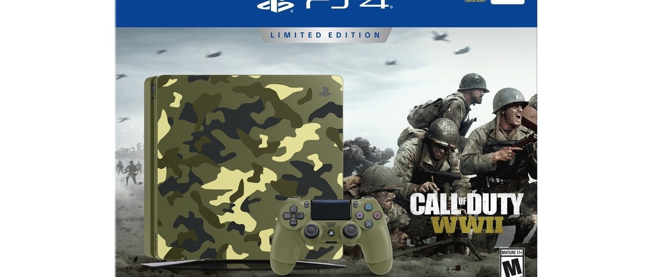 Call of Duty WW2 Limited Edition PS4 Console Announced
