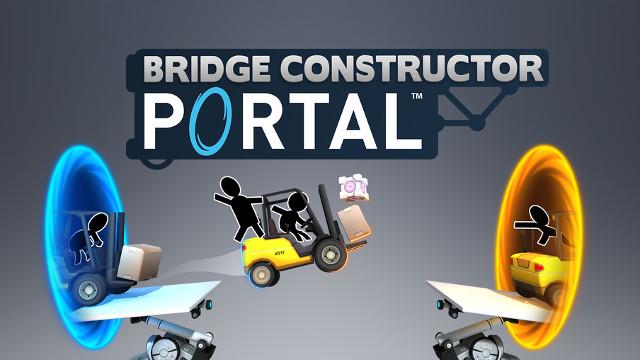 Bridge Constructor Portal : Announcement Trailer