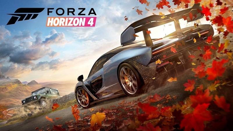 "Forza Horizon 4 : Complete ""Winter"" Map Revealed"