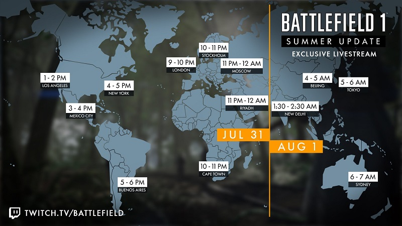 Battlefield Summer Update Live Stream Today, Xbox One X 4K Support Confirmed