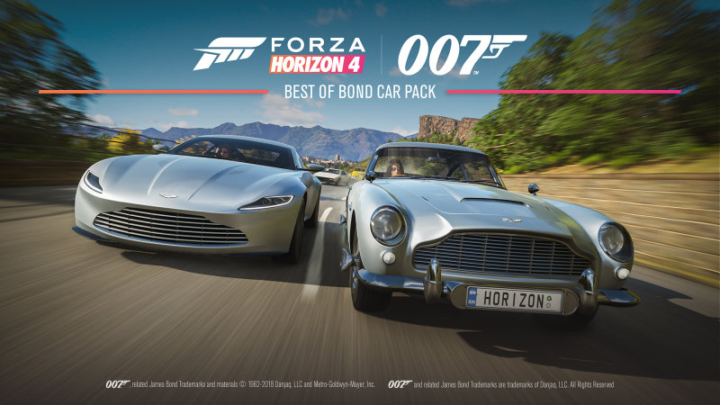 Forza Horizon 4 : The Best of Bond Car Pack List and Trailer