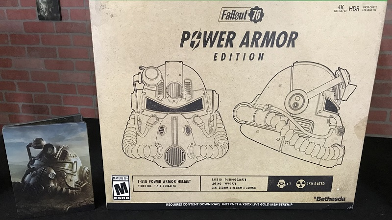 Unboxing : Fallout 76 Power Armor Collector's Edition