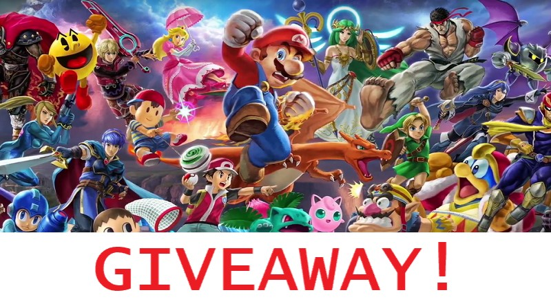 Giveaway : Super Smash Brothers Ultimate